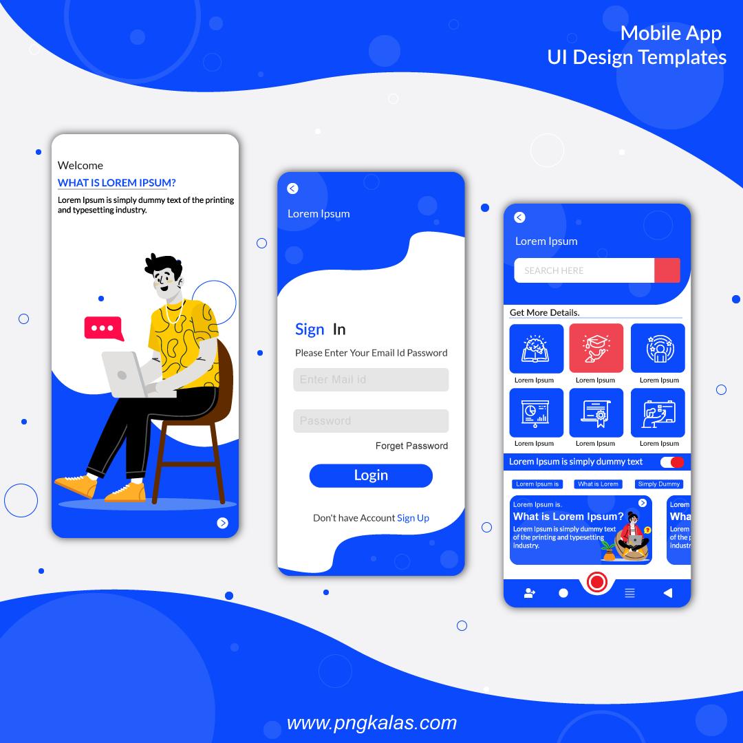 App-Screen-template