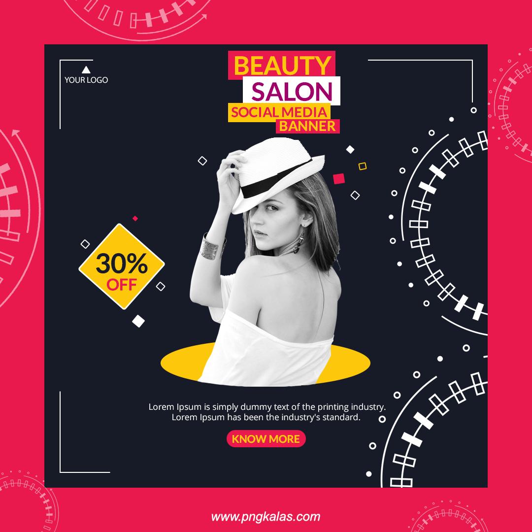 beauty salon Banner