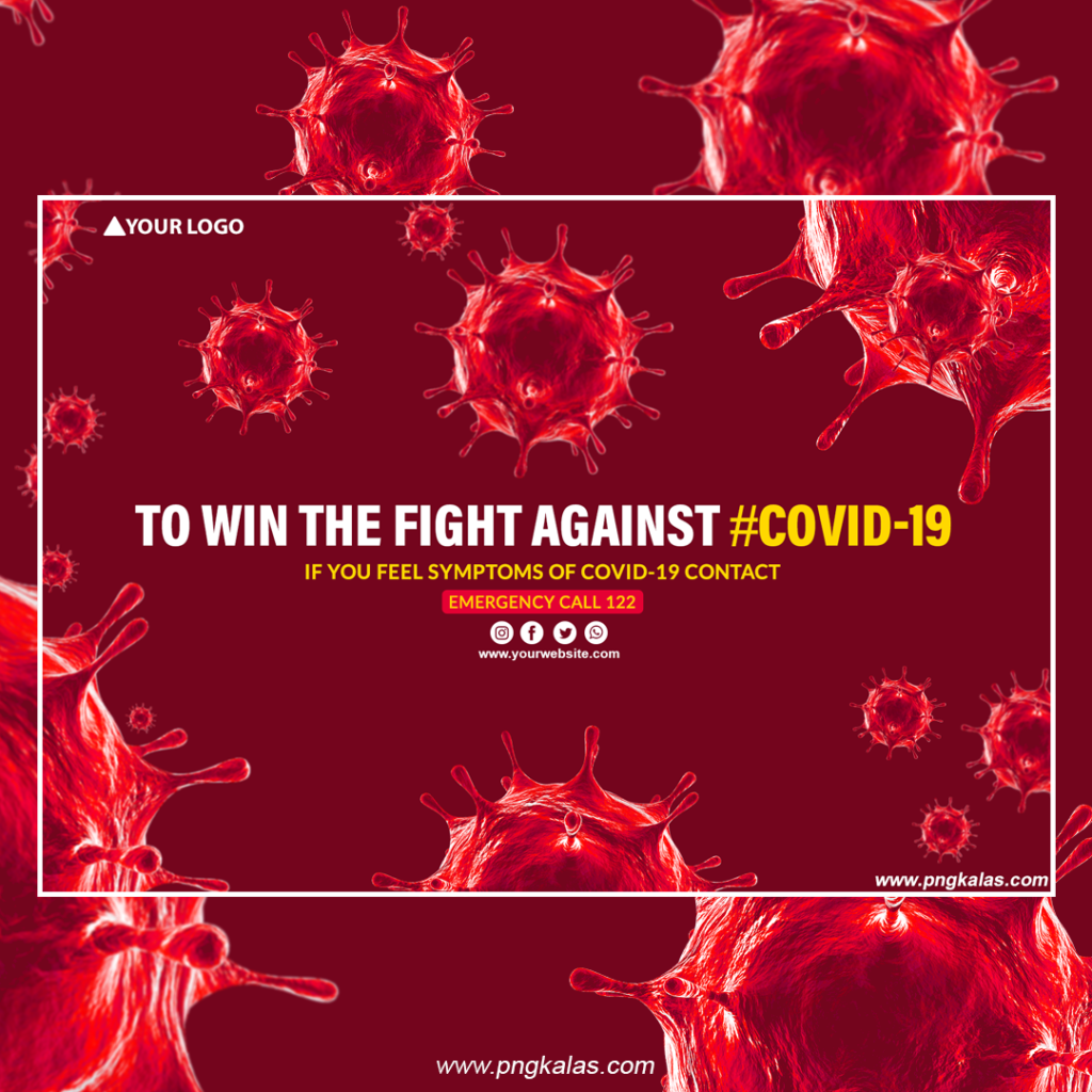 Covid-19 Banner Template