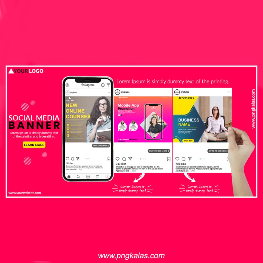 app multiple screens mockup