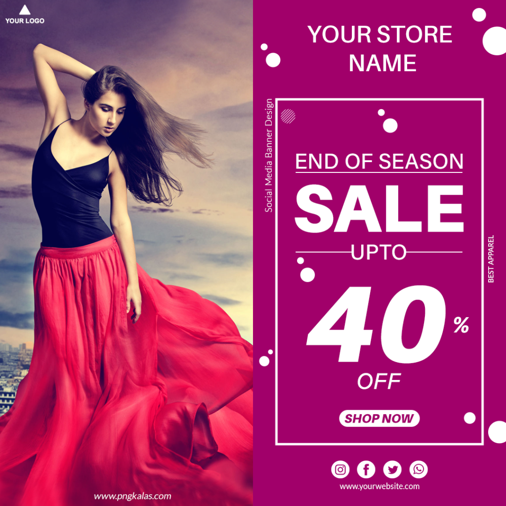 fashion store banner