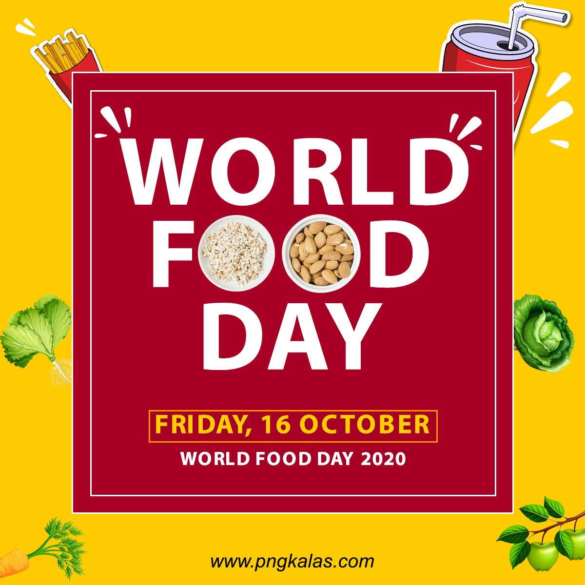 World Food Day Poster Design
