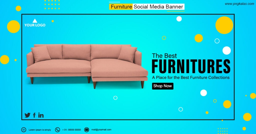 PSD Furniture Banner Design