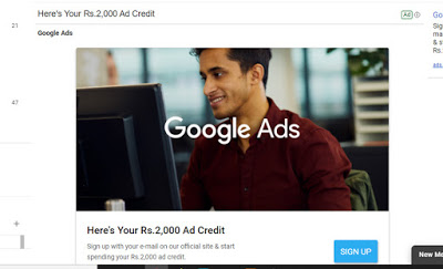 How to use Google free ads Credit