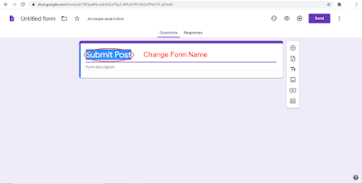 How to Create a Guest Post form in Blogger