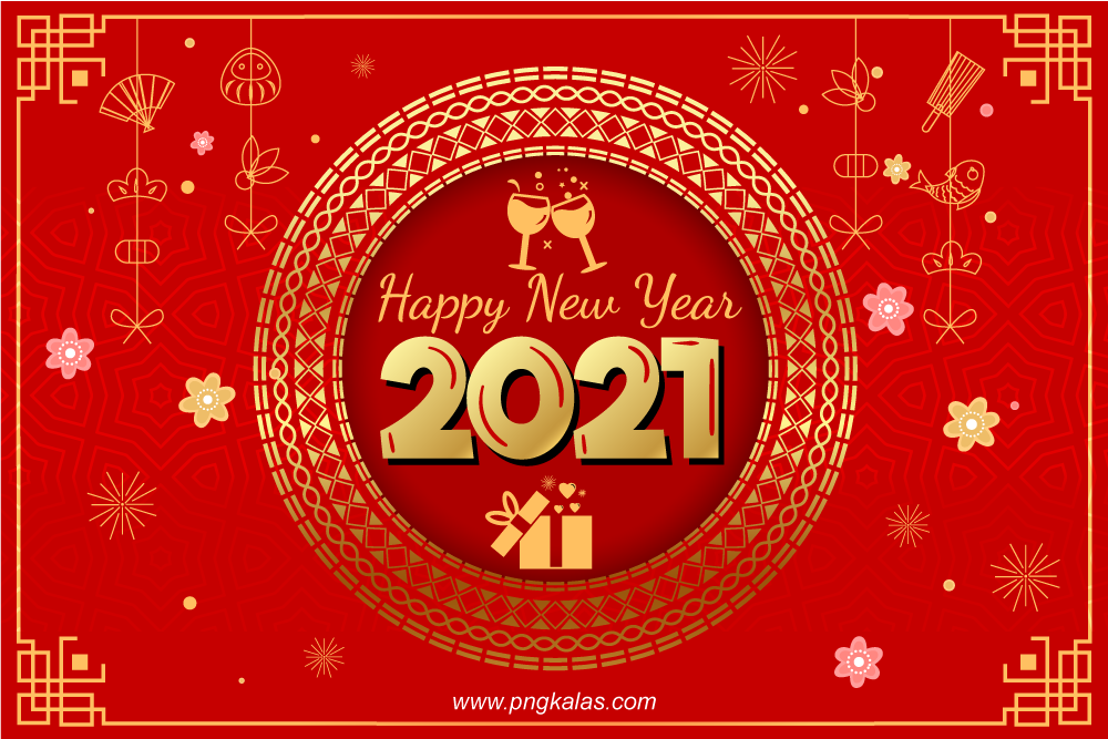 template design for new year