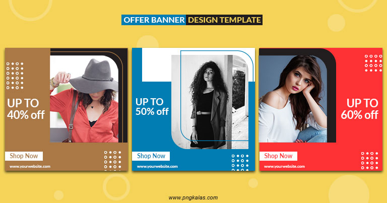 sale offer banner design