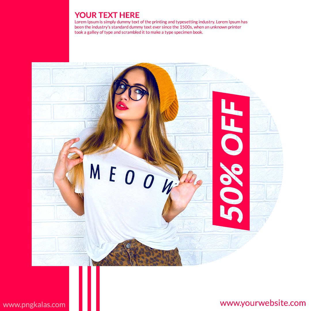 discount sale banner
