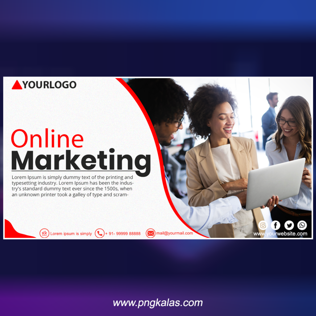 online marketing banner design