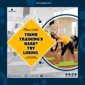 Social Media Template for Fitness Center