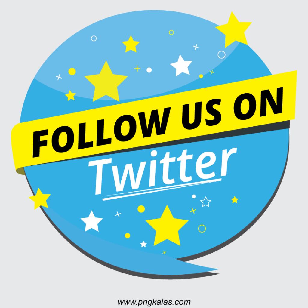 follow us banner design