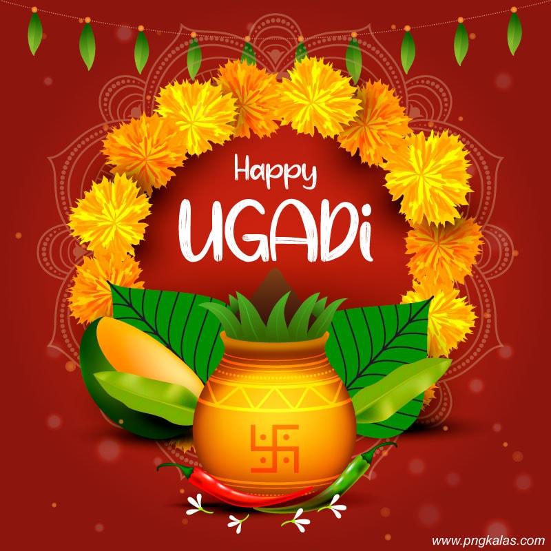 ugadi banner design