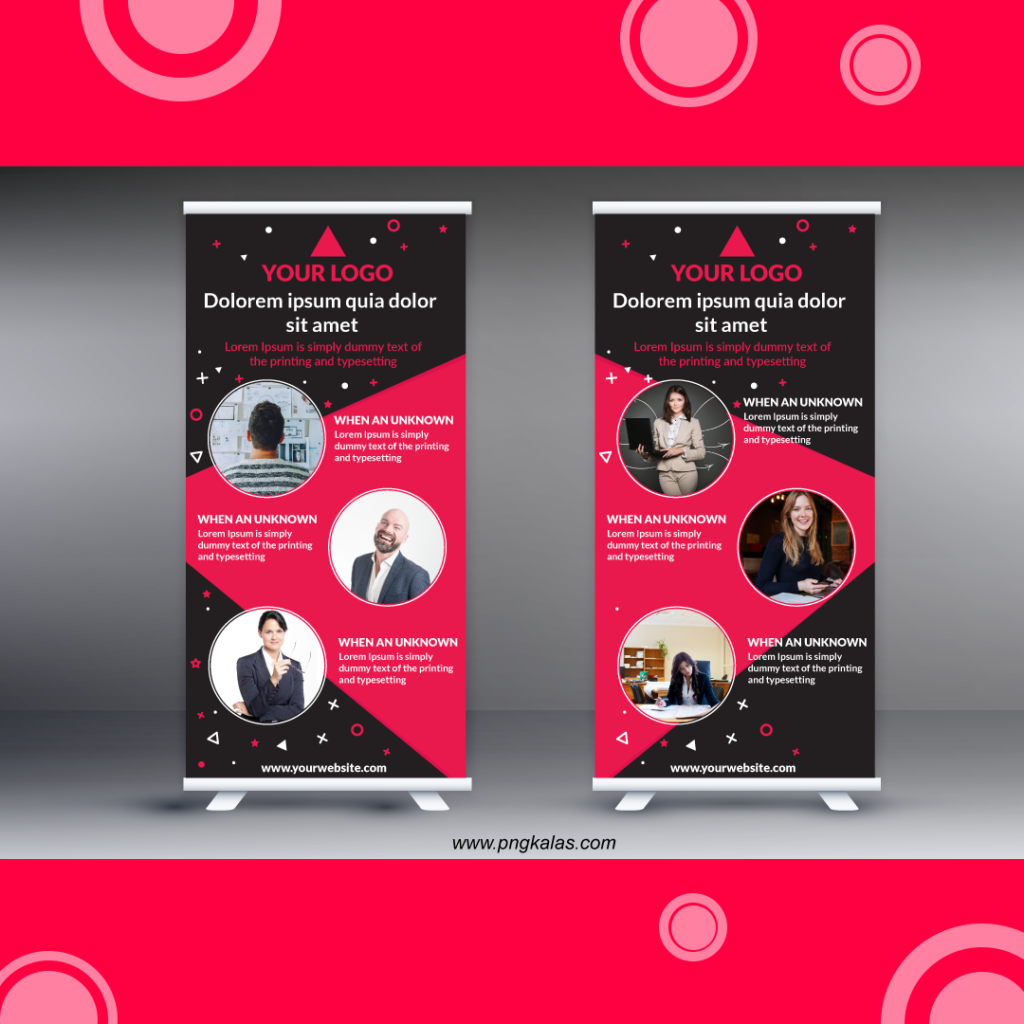 standee mockup psd free download