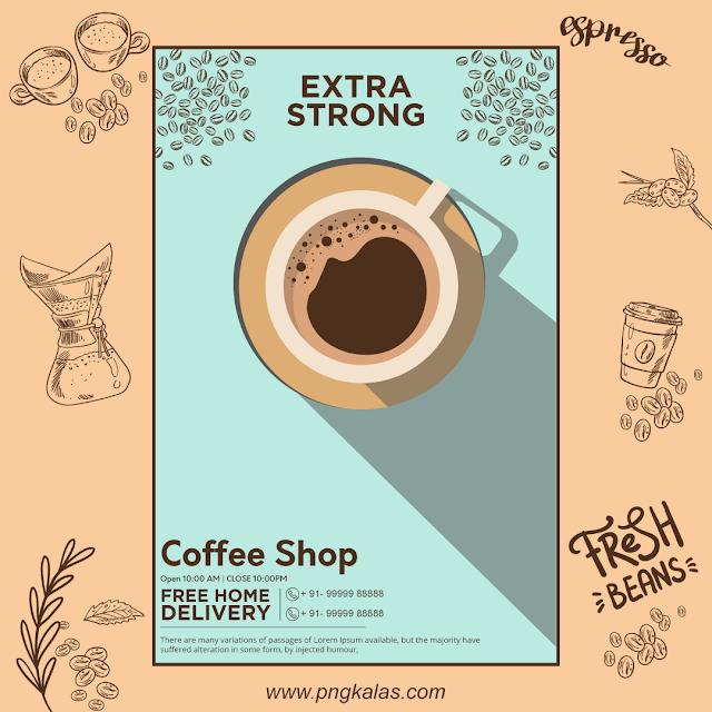 coffee shop poster design