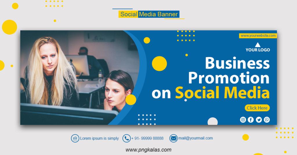Social Media Business Banner