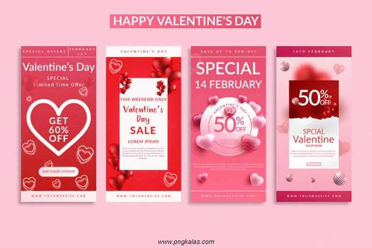 Valentine's day special offer banner