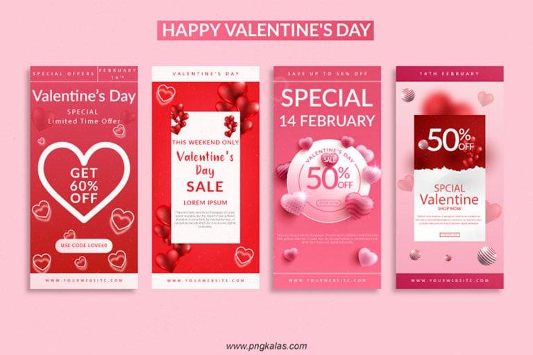 Valentine's day special offer banner