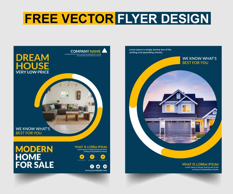 Free Vector Flyer Design