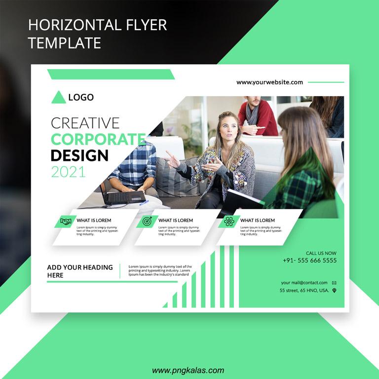 Horizontal Flyer Template