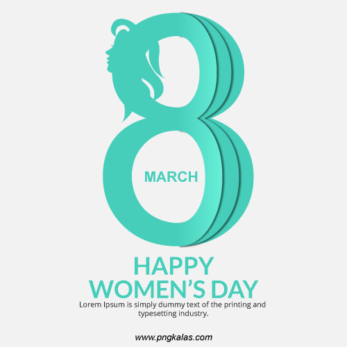 Women's Day vector templates