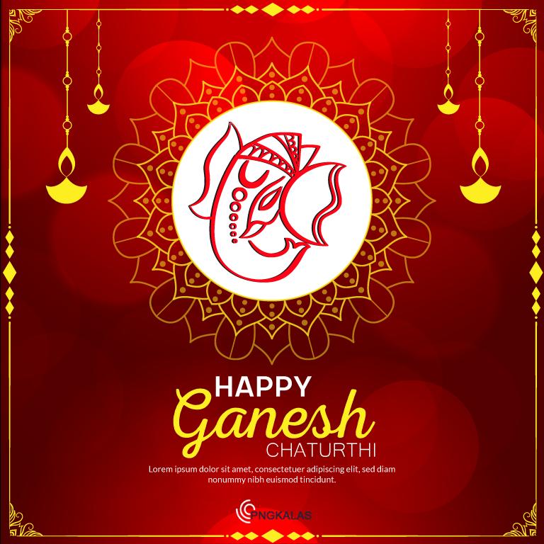 Ganesh Chaturthi Banner 2021