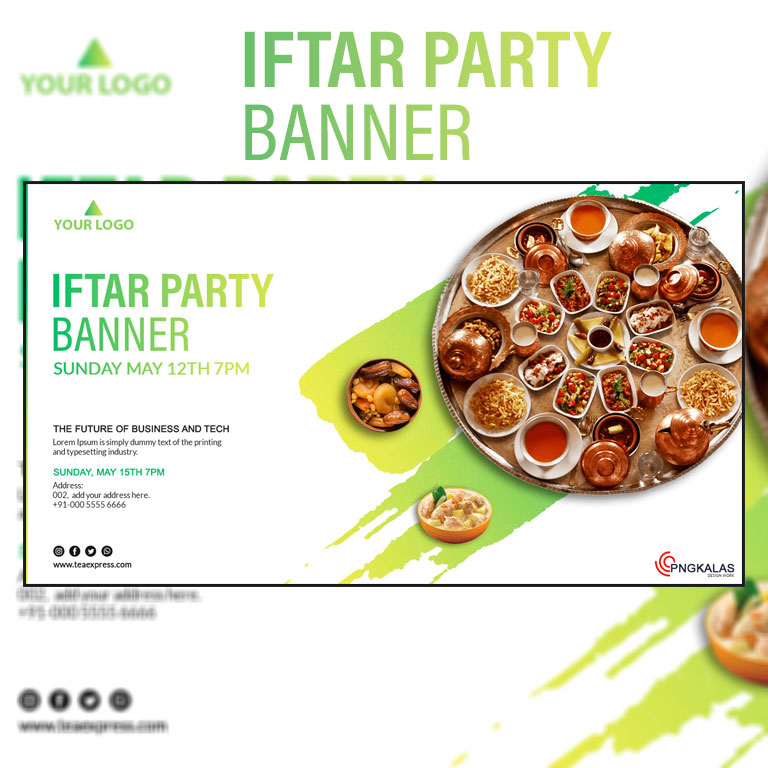 Iftar Party Banner
