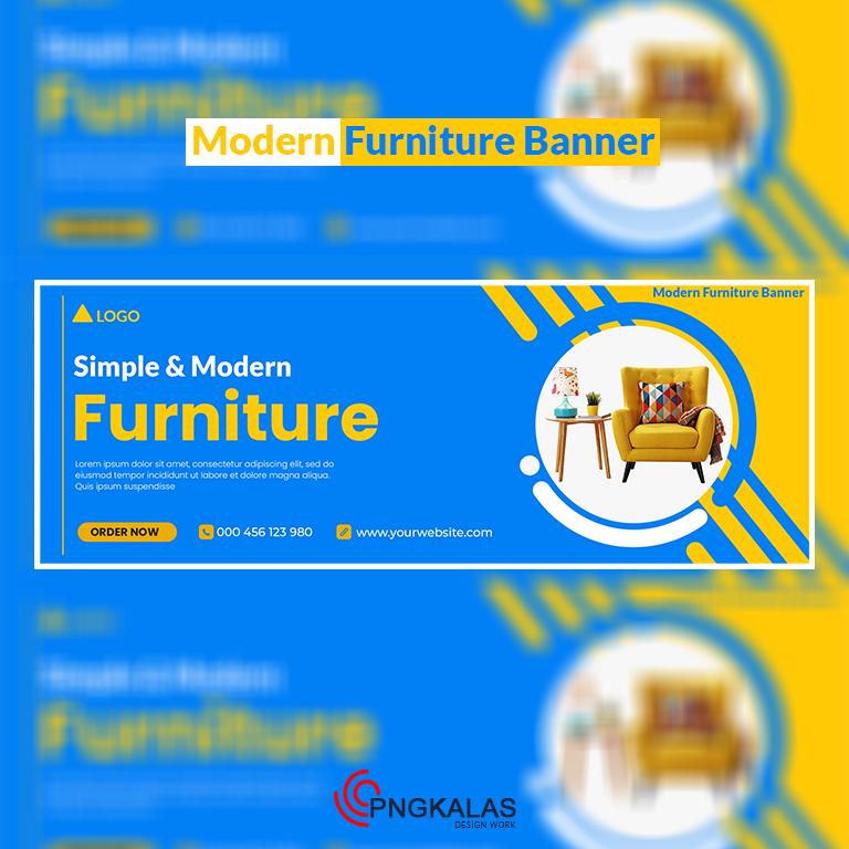 Modern Furniture Banner