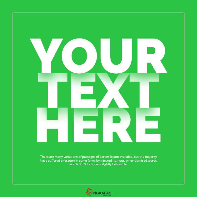 Popup Text Effect in Photoshop