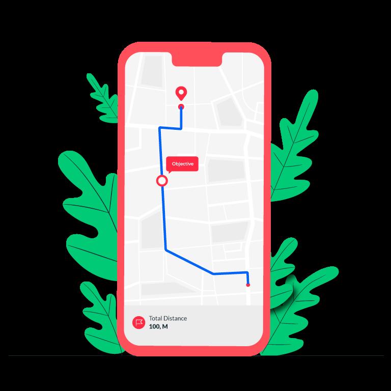Vector Phone Mockup Concept Illustration