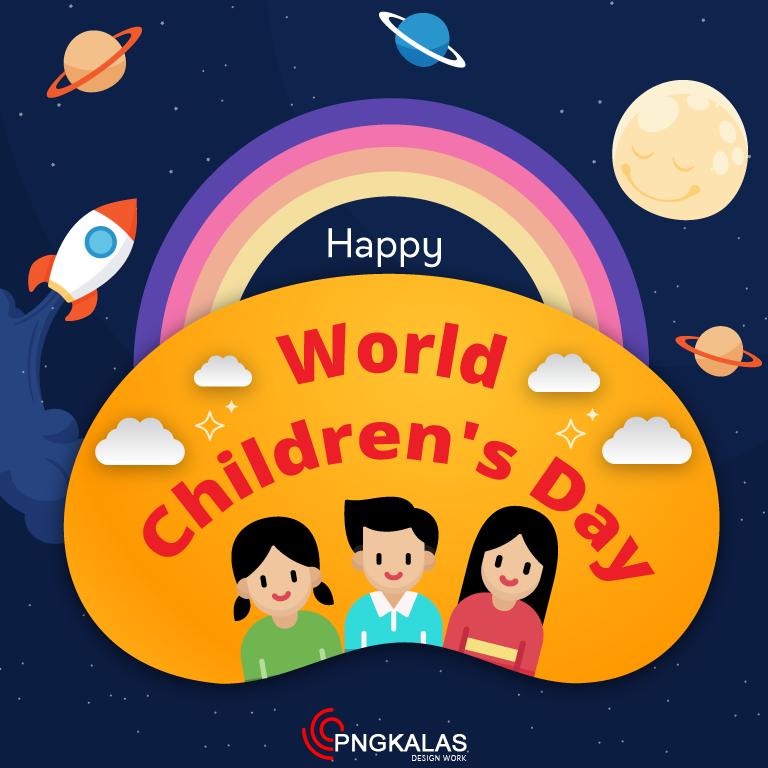 World Children's Day Banner