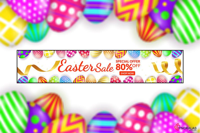 Easter Sale Offer Banner