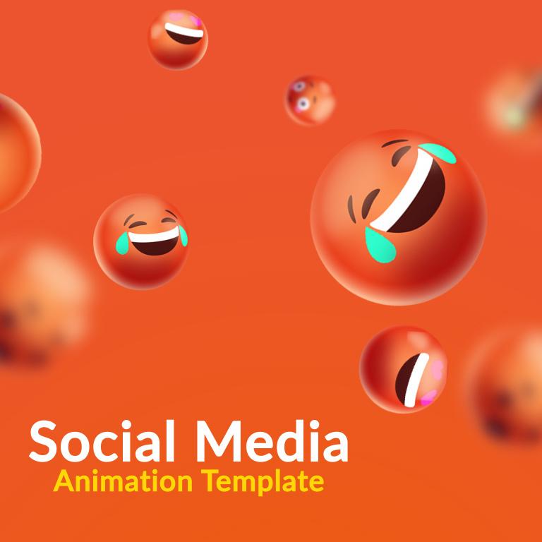 Social Media Animation Template