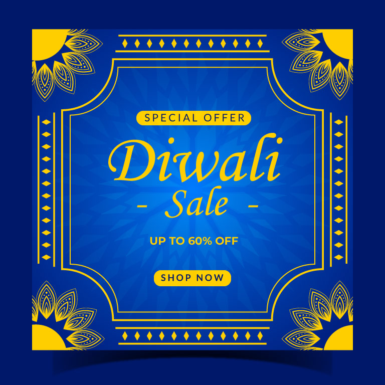Diwali Festival Instagram Post Template