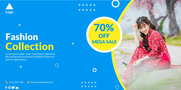 New Collection Fashion Sale Banner