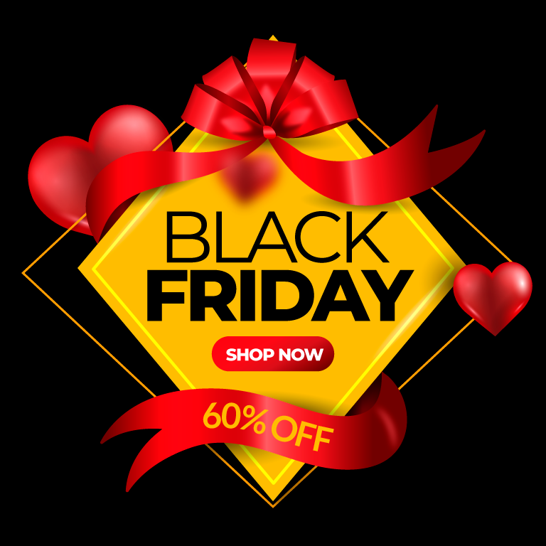 Realistic Black Friday Offer Banner
