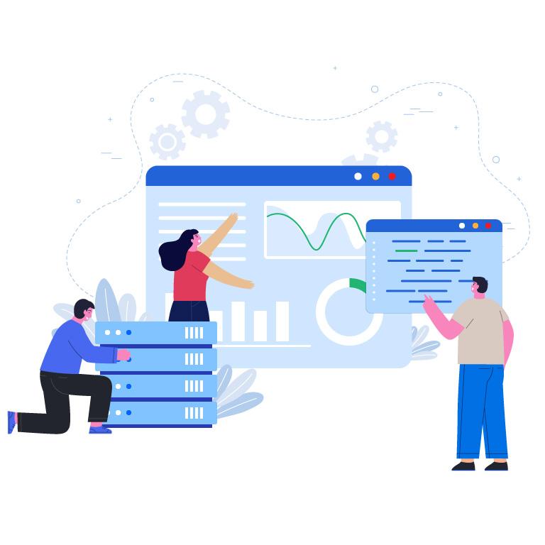 Business Idea Concept Design Free Vector