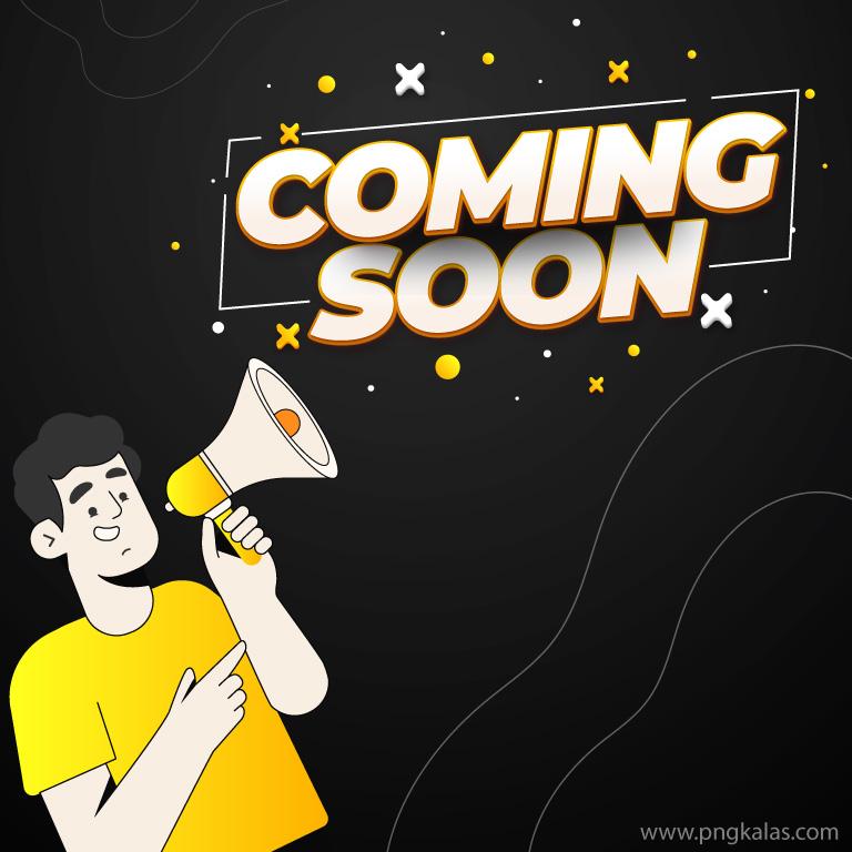 Coming Soon Vector Banner Design