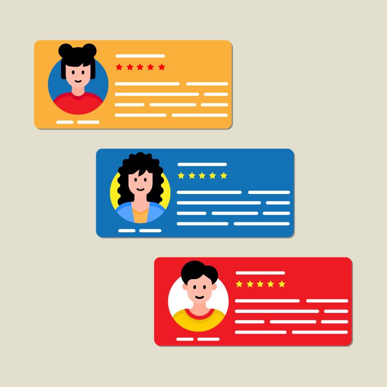 Customer Testimonial Design Templates