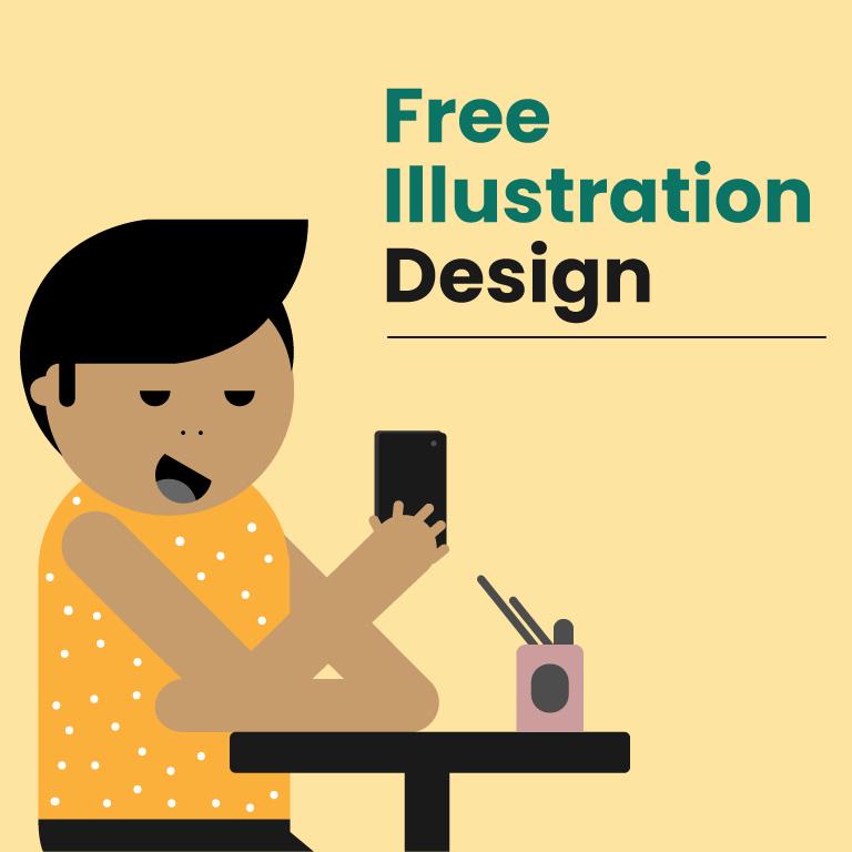 Free Character Illustration Design