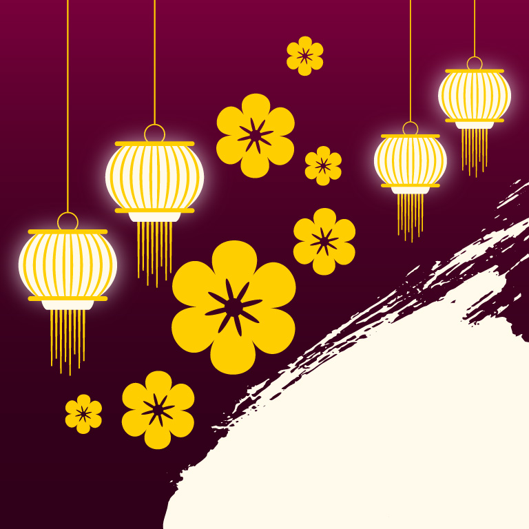 Free Vector Flowers Background Design