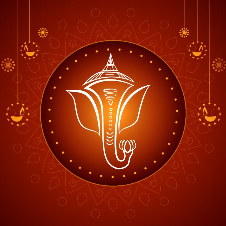 Ganesh Chaturthi Banner Design