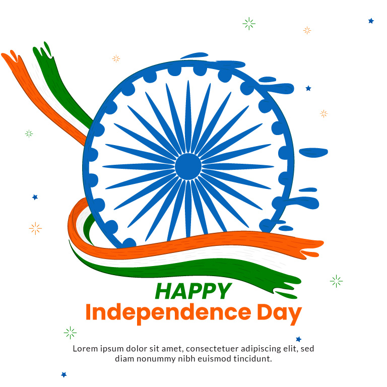 Happy Independence Day Banner