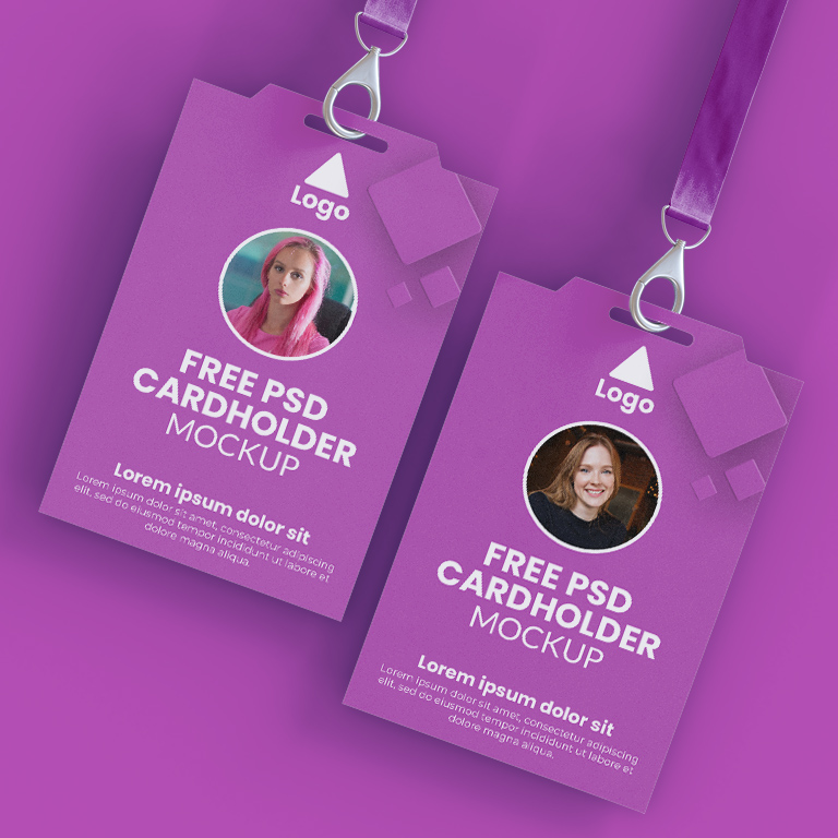 Id Card Mockup Design