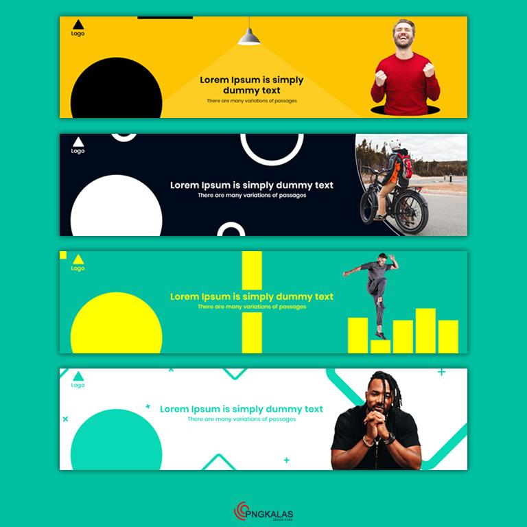LinkedIn Banner Design Free PSD Templates