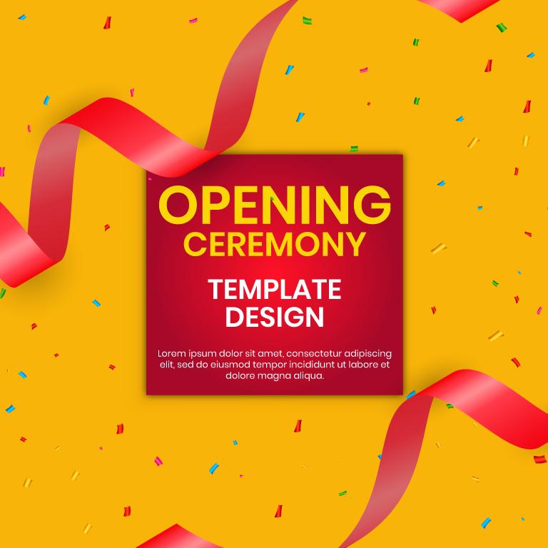 Opening Ceremony Background Design