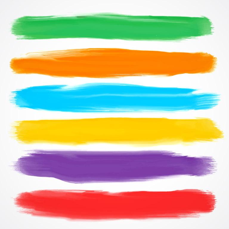 Watercolor Brush Vector Free