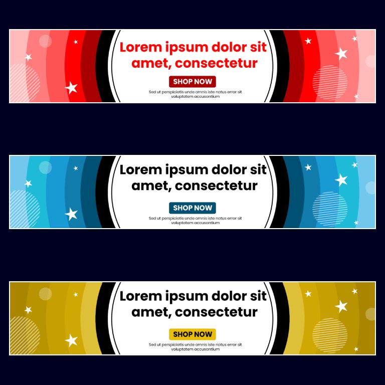 Website Banner Templates