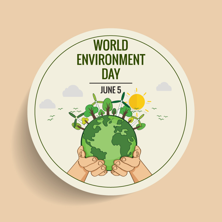 Free World Environment Day Banner
