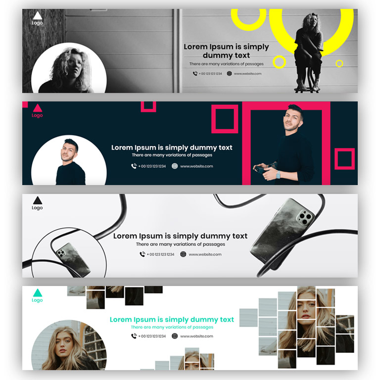 Creative LinkedIn Banner Design