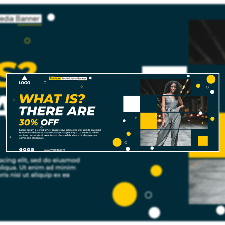 Free Facebook Cover Page Template PSD